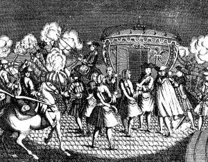 Coloriage adulte versailles 5 janvier 1757 attentat louis xv
