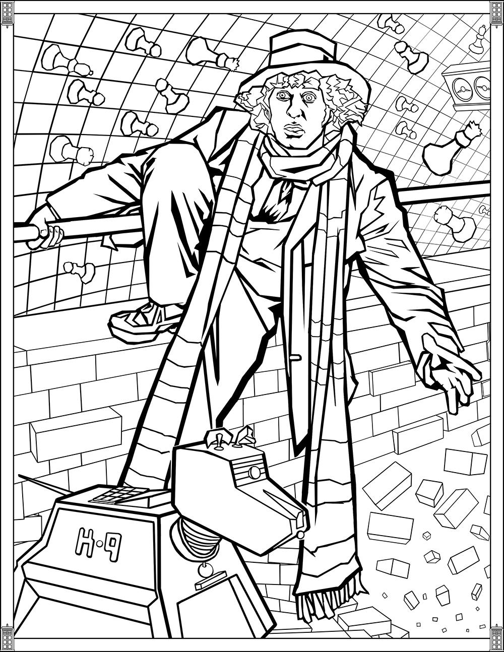 Docteur Who : Le quatrième Docteur Who : Top Baker
