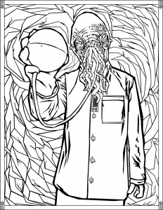 Coloriage Doctor Who Ood