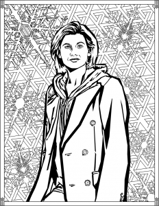 Coloriage Doctor Who Treizieme Doctor