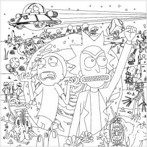 Rick et Morty : Perdus dans l'espace