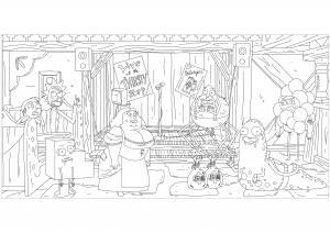 Rick et Morty : Drôles de personnages