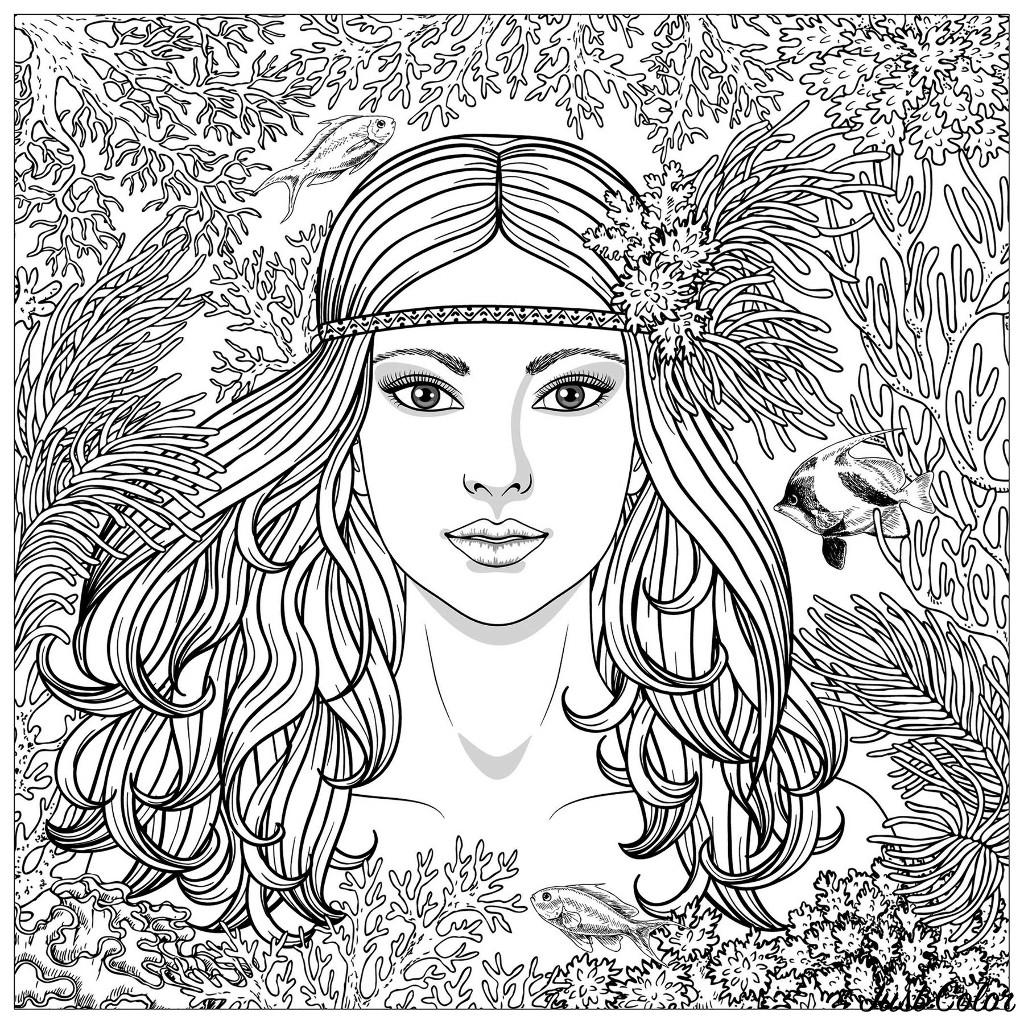 Portrait de sirène