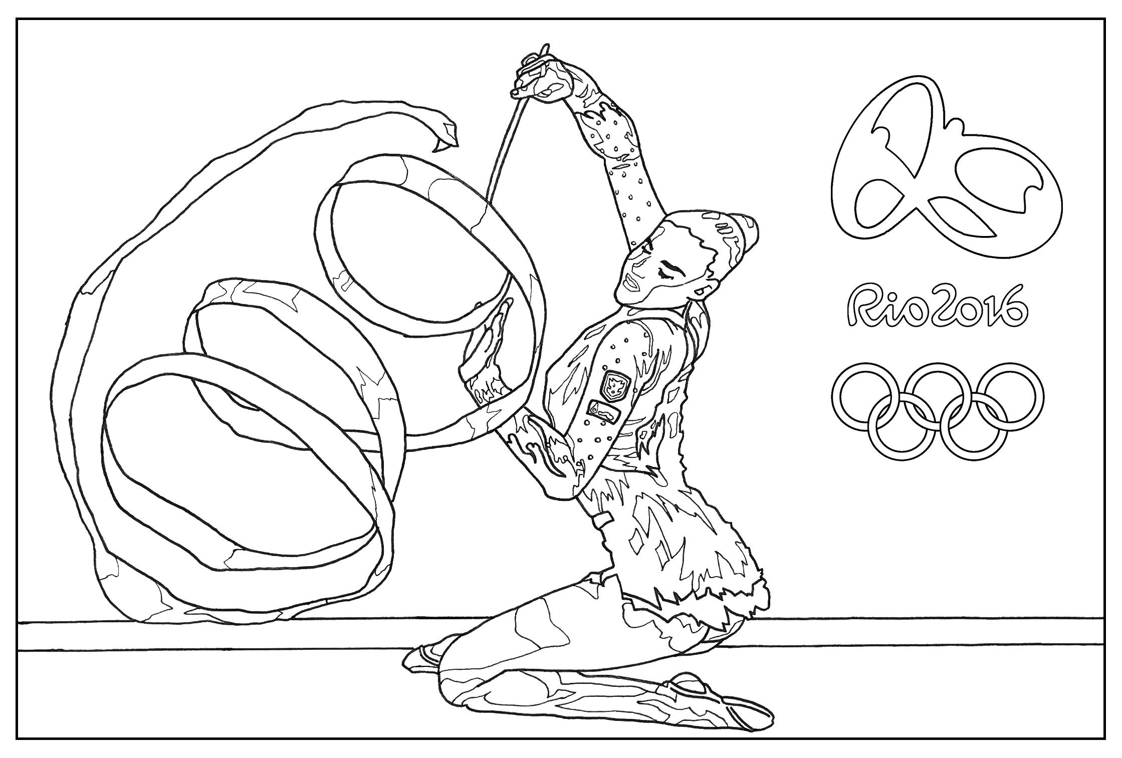 Jeux Olympiques de Rio 2016 : La gymnastique rythmique
