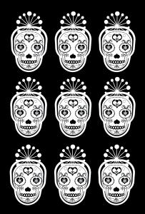 Coloriages tatouages 9