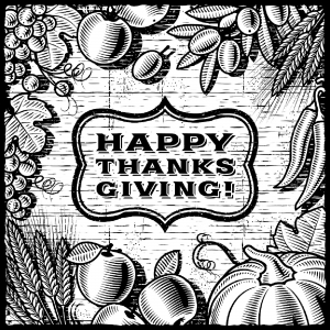 Coloriage thanksgiving a imprimer