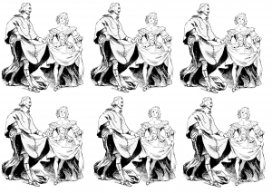 coloriage-adulte-cardinal free to print