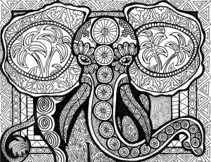 Les lignes de l'éléphant