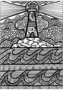 Lignes du phare