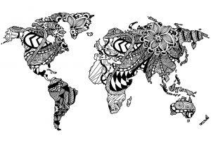 Planisphère Zentangle 3