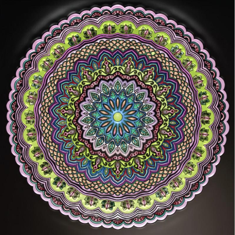 Creation par anjelikas8, coloriage de la galerie Mandalas