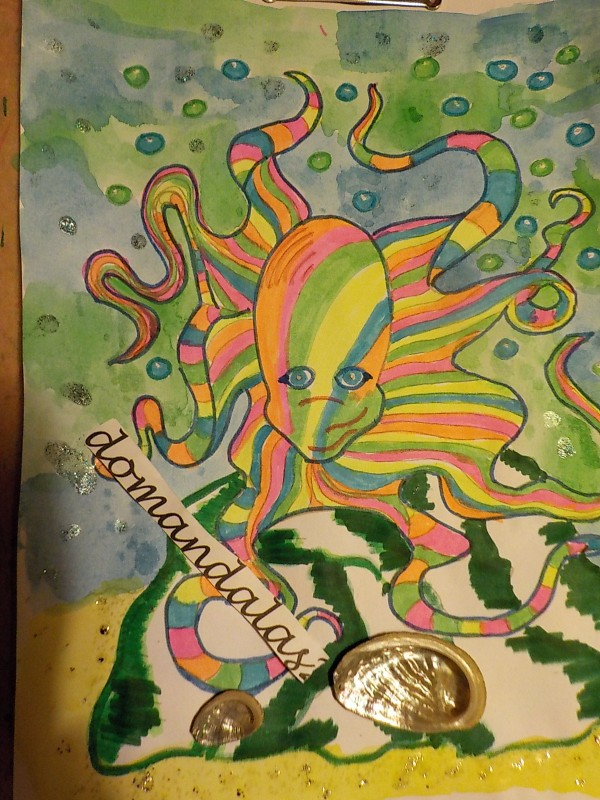 Creation par domandalas3, coloriage de la galerie Mondes aquatiques
