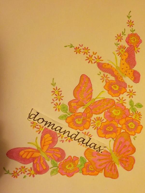 Creation par domandalas3, coloriage de la galerie Insectes