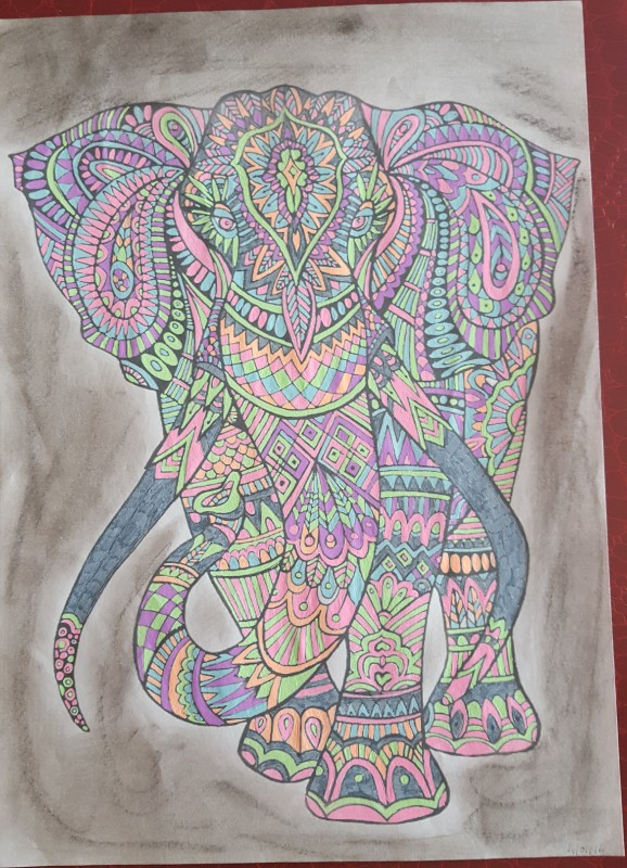Creation par mimi17, coloriage de la galerie Animaux