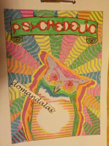 coloriage-psychedelique