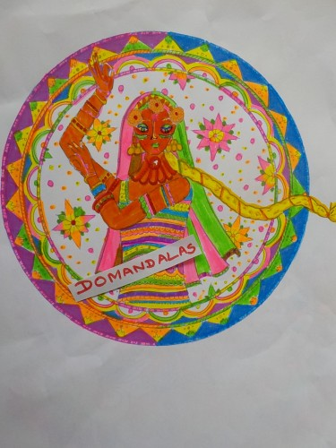 coloriage-inde-bollywood