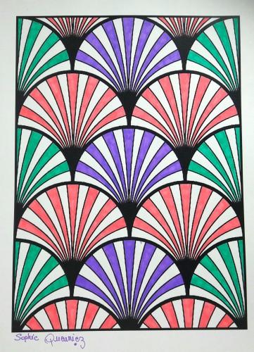 coloriage-art-deco
