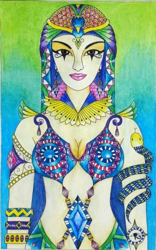 coloriage-egypte-et-hieroglyphes