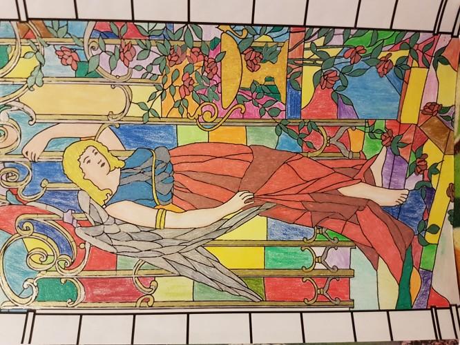 coloriage-vitraux