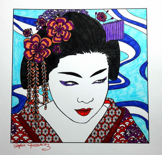 coloriage-japon