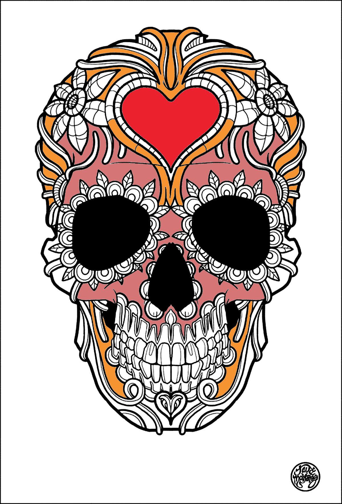 Tatuaggi Disegni Da Colorare Per Adulti Justcolor Net