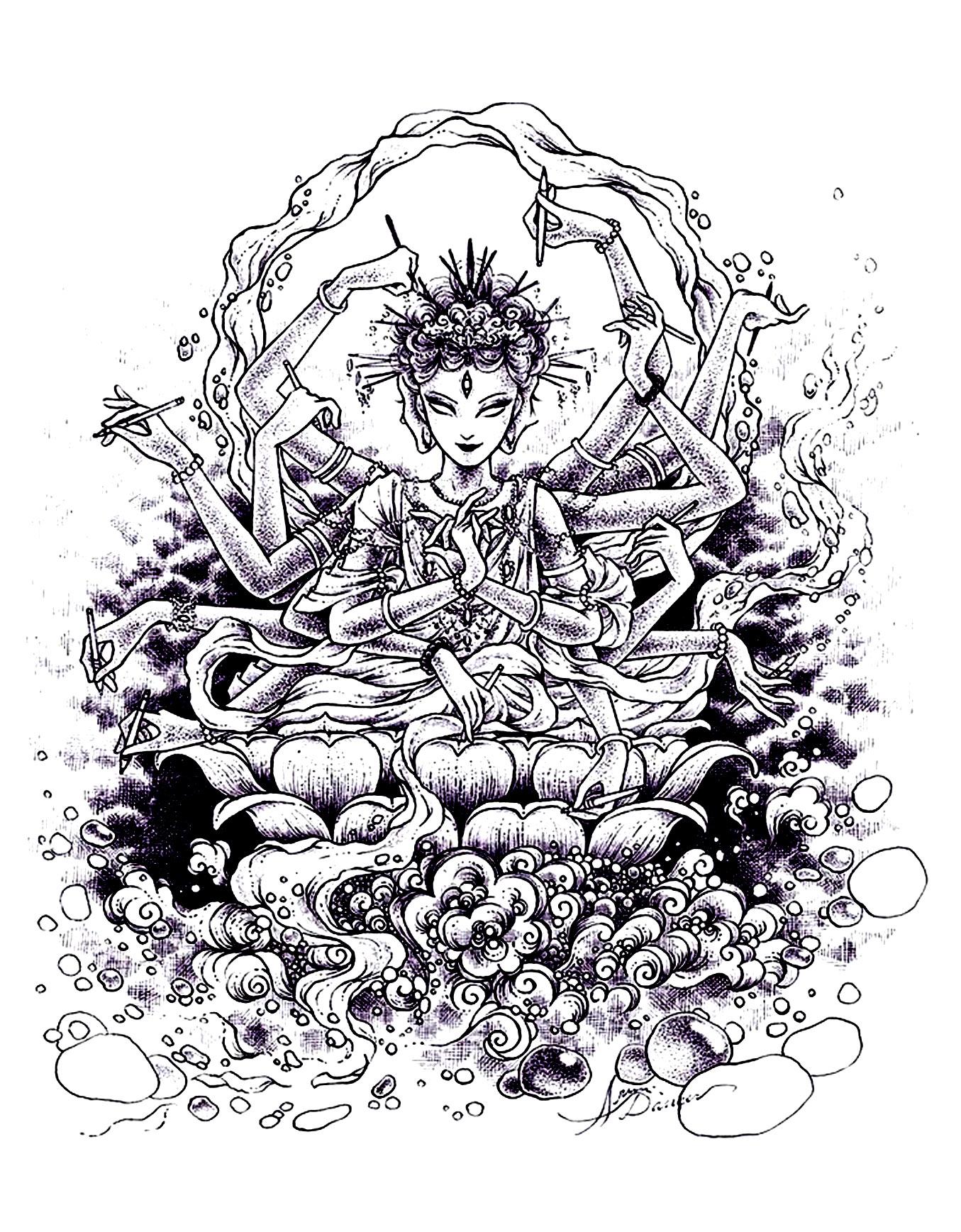 Anti Stress Zen 52133 Anti Stress Zen Disegni Da Colorare Per