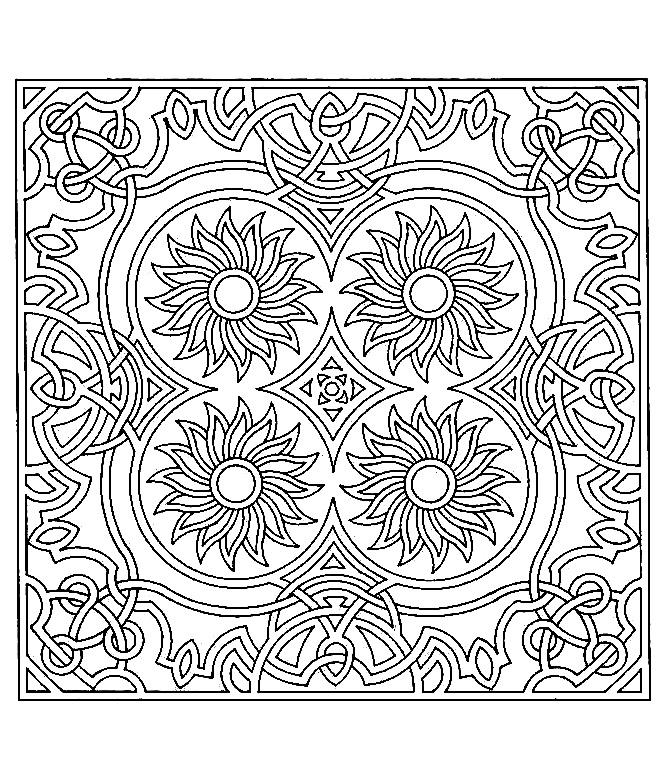 Disegni da colorare per adulti : Anti-stress / Zen - 14