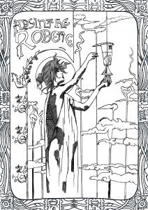 Art nouveau 19024