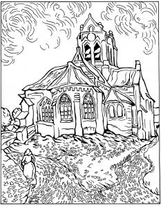 Van gogh disegni da colorare disegni da colorare per - Arte celtica colorare le pagine da colorare ...