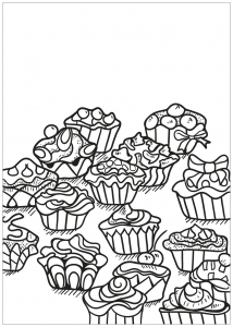Cup cakes 44034