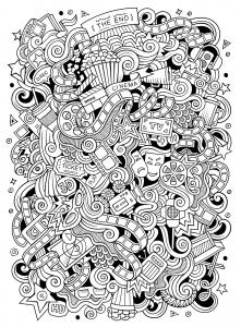 Doodle art doodling 15431