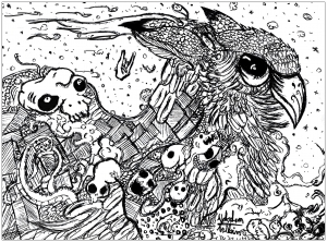 Doodle art doodling 23893