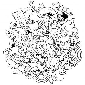 Doodle art doodling 24926