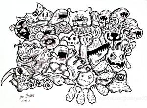 Doodle art doodling 44544