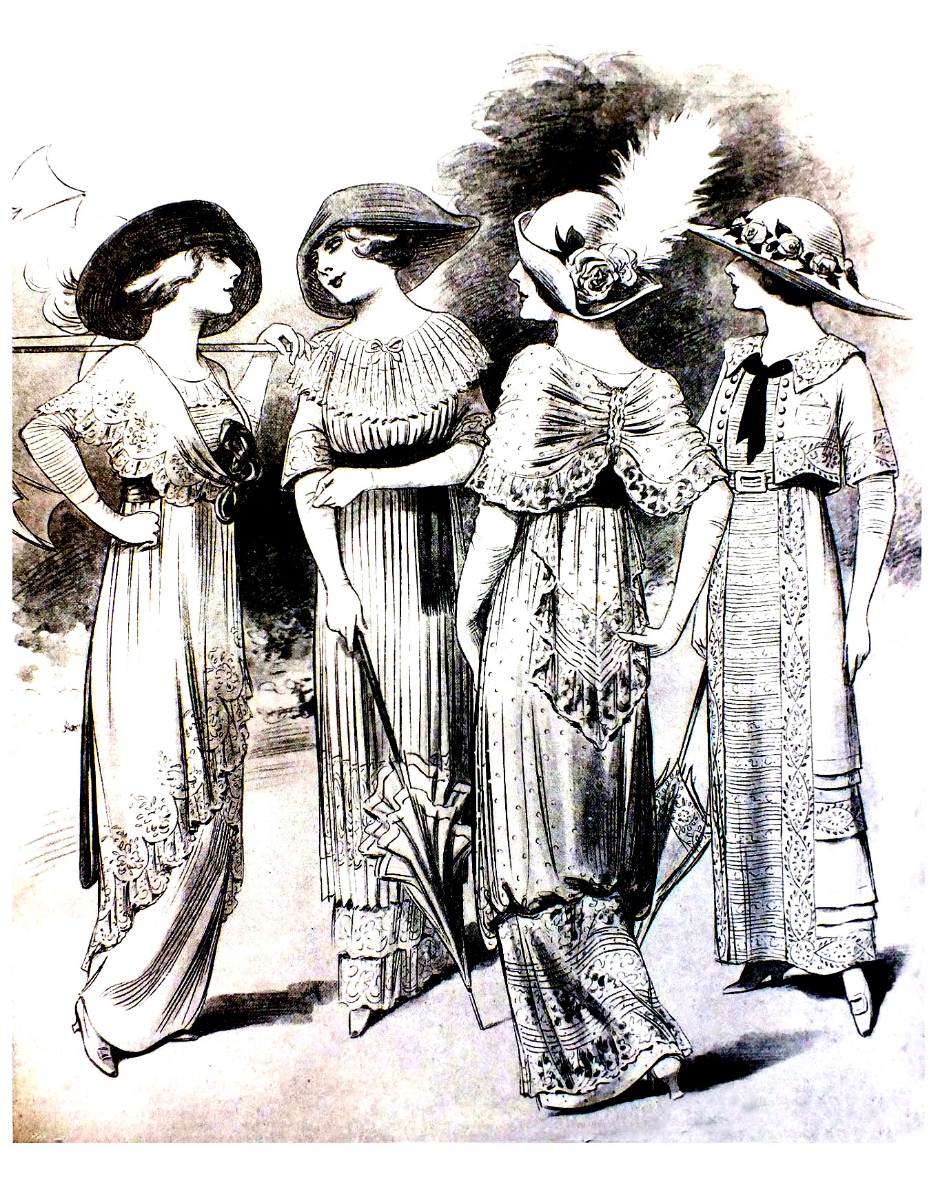Disegni da colorare per adulti : Moda e abbigliamento - 8