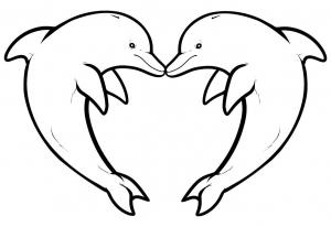 Delfino disegni da colorare disegni da colorare per for Delfino disegno da colorare
