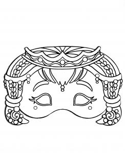 Maschere disegni da colorare per adulti - Arte celtica colorare le pagine da colorare ...