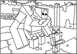 Minecraft Da Colorare Minecraft Lego Coloring Pages Disegni Da