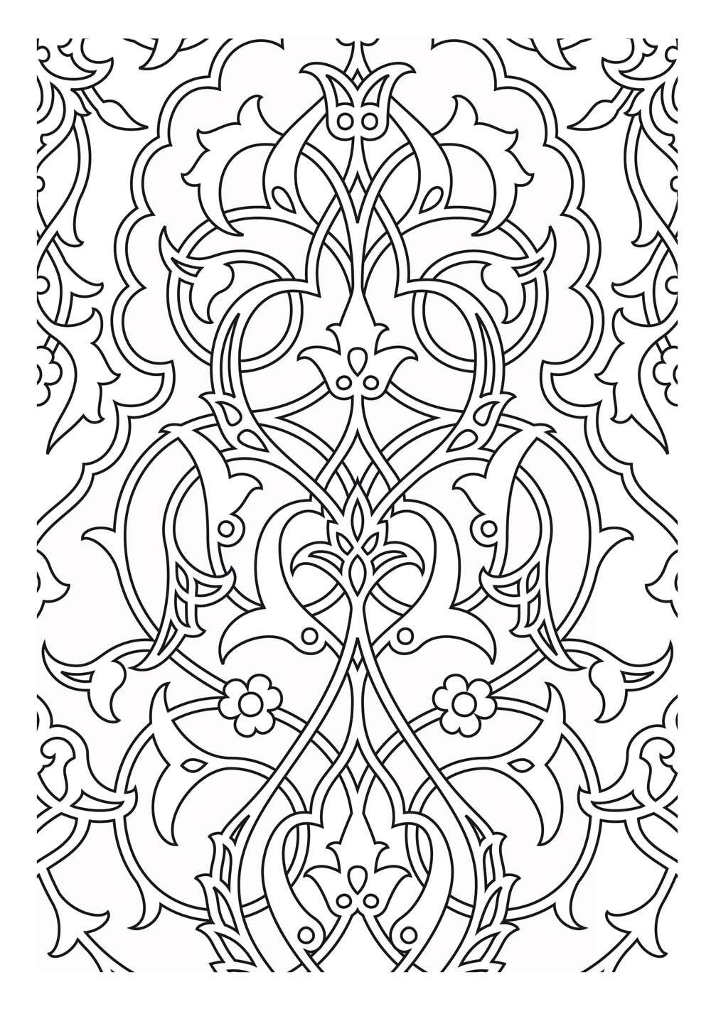 Disegni da colorare per adulti : Mondi dacqua - 16