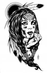 Indiano damerica 16514