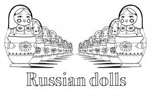 Bambole russe 36090