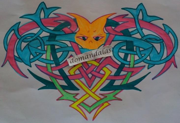 Le tue creazioni disegni da colorare per adulti - Arte celtica colorare le pagine da colorare ...