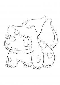 <b>Bulbasaur</b> (No.01) : Pokemon (Generation I)