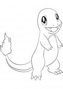 <b>Charmander</b> (No.04) : Pokemon (Generation I)