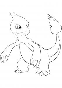 <b>Charmeleon</b> (No.05) : Pokemon (Generation I)