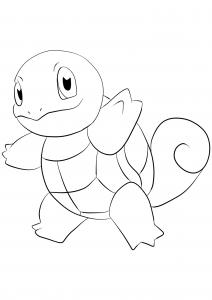 <b>Squirtle</b> (No.07) : Pokemon (Generation I)