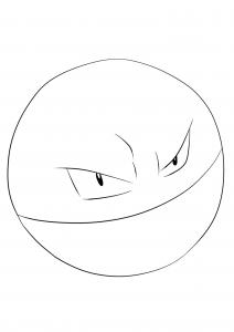 <b>Electrode</b> (No.101) : Pokemon (Generation I)