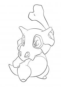 <b>Cubone</b> (No.104) : Pokemon (Generation I)