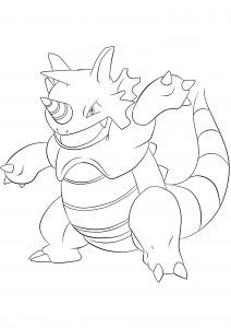 <b>Rhydon</b> (No.112) : Pokemon (Generation I)