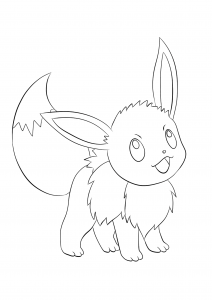 <b>Eevee</b> (No.133) : Pokemon (Generation I)